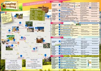 Camping gers - Brochure Bonnes adresses 1
