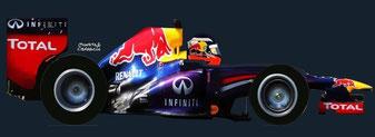 Daniel Ricciardo by Muneta & cerracín - Daniel Ricciardo del Infiniti Red Bull Racing con su Red Bull RB10 - Renault