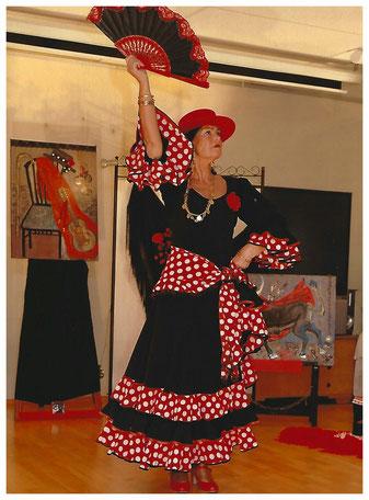Angelika Brückner tanzt Flamenco
