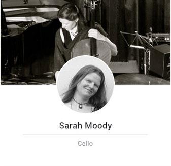 sarah playing cello
