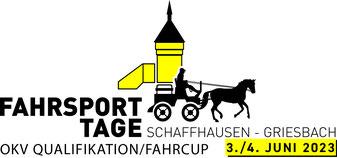 Fahrsport Tage Schaffhausen Griesbach 2019 Fahrturnier OKV Championat