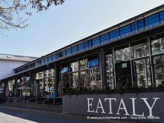tourisme - restaurant et épicerie fine Eataly dans les anciennes halles de Munich