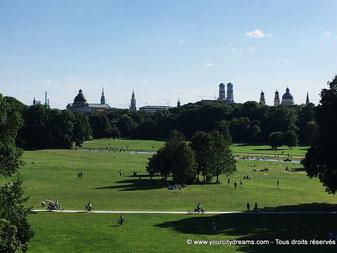 Jardin anglais Munich