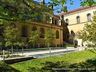 Le jardin de la résidence des rois de Bavière à Munich