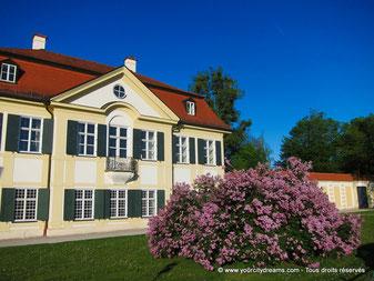 le palais de Nyhmpehnburg à Munich et sa manufacture de porcelaine