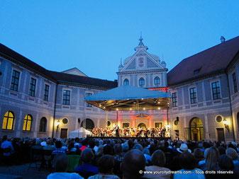 Les concerts classiques à la résidence de Munich, Bavière