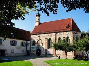 La chapelle du château de Blutenburg