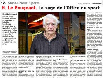 Le Télégramme du 26/12/2013