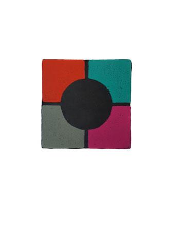 Druckgrafik,  Holzschnitt, Originaldruckgrafik, Grafik, Abstrakt, modern, magenta, grau,  rot, schwarz, blau, Schwarze Kunst, Farbholzschnitt