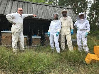 Das Team von Bio-Biene