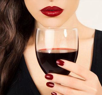 Italienische Weine aus der Vinothek