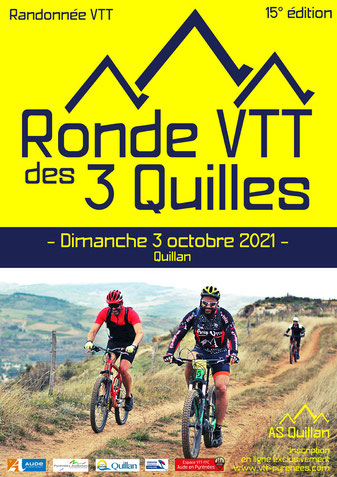 Ronde VTT des 3 Quilles - Quillan