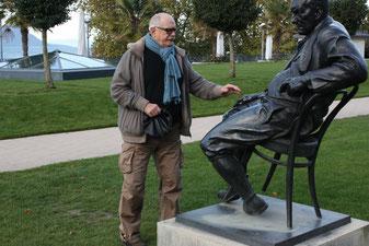 "Н.Михалков в Монтре, Швейцария. ""АиФ.Европа"", фото: Т.Каримов"