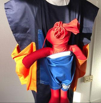 Moofy - Dummy für Evakuierungsübungen in Babystationen und Kindergärten