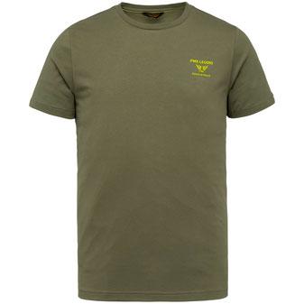 PME T-Shirt PTSS214580 khaki bei Männermode Schlangen