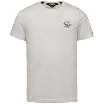 PME T-Shirt PTSS214551 weiss bei Männermode Schlangen