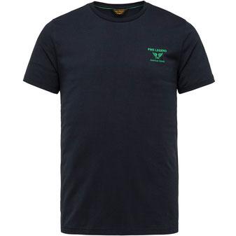 PME T-Shirt PTSS214580 marine bei Männermode Schlangen