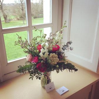Décoration florale bureau, accueil, abonnement floral