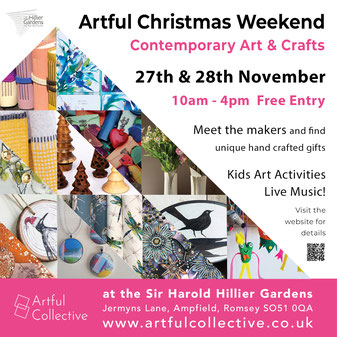 Winter Jewels 2021 at the Sir Harold Hillier Gardens - ACJ Wessex Contemporary Jewellery