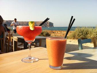 Cocktails op het strand in Javea