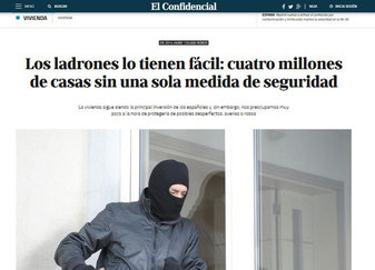 Krantenartikel veel huizen zijn niet beveiligd