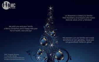 MMC Property Services wenst  u een vrolijk kerstfeest
