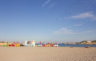 Arenal strand in Javea Costa Blanca