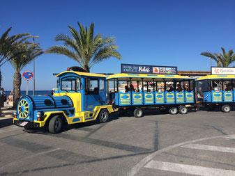 Tren turístico en Javea