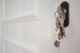 Huis met sleutels