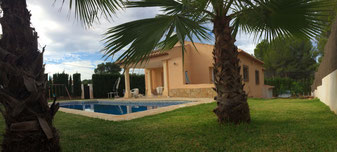 House with garden and pool in Javea