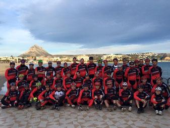 Club Xabia Bikers Javea presenta su nueva ropa para la temporada 2016 / 2017