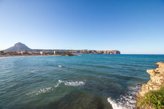 La playa El Arenal en Javea