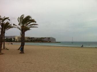 Het Arenal strand in Javea