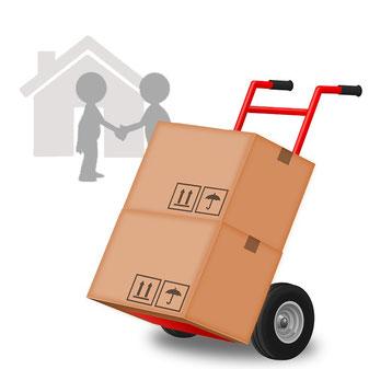 Bezorging voor een huis in Javea