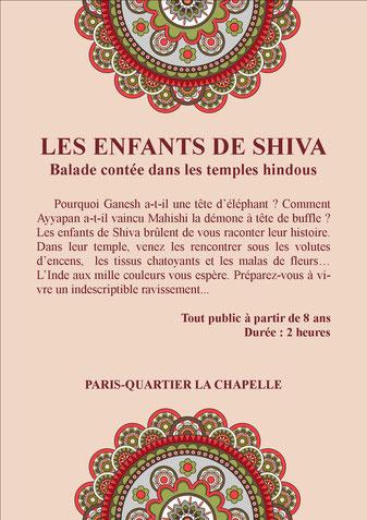 Balade contée sur le thème de l'Inde à Paris