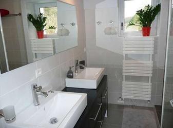 Badezimmer Ferienhaus Isère