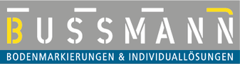 Logo - Bussmann Bodenmarkierungen & Individuallösungen