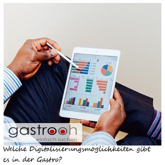 Digitalisierungsmöglichkeiten Gastgewerbe