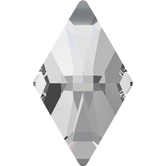 Swarovski 2709 Rhombus 001 Crystal No Hotfix