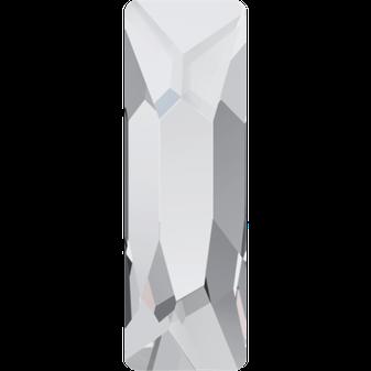 Swarovski 2555 Cosmic Baguette 001 Crystal Hotfix