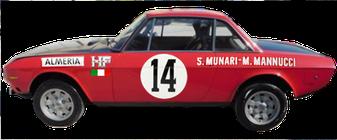 lancia fulvia coupé montecarlo 1972 complete graphics pubblimais