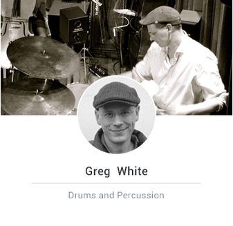 greg playing drums