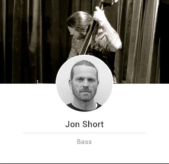jon playing double bass