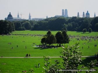 Incontournable lors d'un voyage à Munich: le jardin anglais