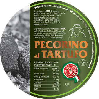 maremma pecorino pecora formaggio caseificio toscano toscana spadi follonica etichetta italiano origine latte italia nuovi sapori saporito aromatiche aromatizzato stagionato tartufo