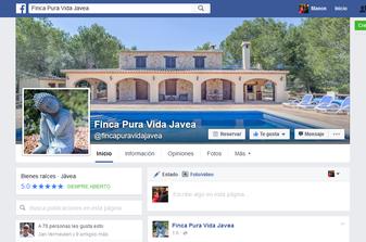 Facebook Finca Pura Vida Javea