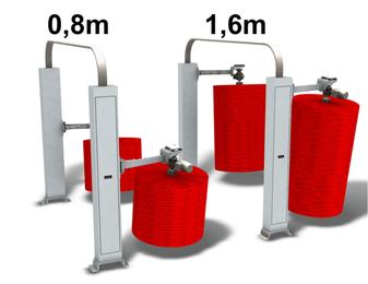 Stummelbürsten für Waschstrasse - Modernisierung. Alle Module sind zum Nachrüsten geeignet. Preiswerter und effizienter Aufbau.