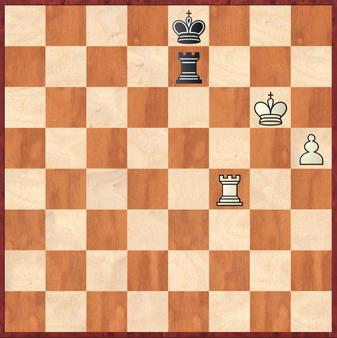 Mauelshagen - Rahimi, R: Schwarz griff hier mit 67. ... Te7+ fehl (das Remis sichert z.B. Te1!) und ermöglichte Weiß den König über g7 und g8 auf der Grundreihe zu verstecken und den h-Bauern unaufhaltsam durchzubringen