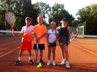 SKG Stockstadt Tennis - Kreismeister 2012 Topspin U10- gemischt