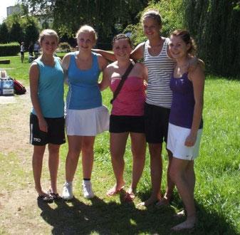 SKG Stockstadt Tennis - Aufsteigerinnen 2011 U18 Juniorinnen